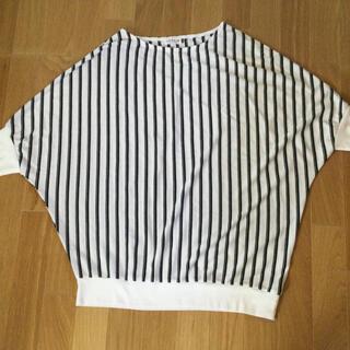 レプシィム(LEPSIM)のストライプ カットソー    フリーサイズ(カットソー(半袖/袖なし))