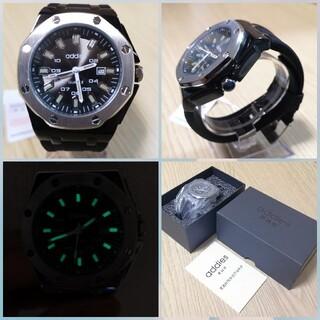 [[ addies 8ピンのメンズ 腕時計 ]]ブラック/グレー