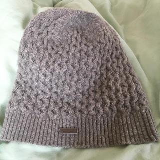 バーバリー(BURBERRY)のバーバリーブラックレーベル ニット帽(ニット帽/ビーニー)