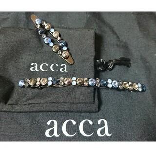 acca - acca 限定ベリーバレッタ アーモンドピン セット アッカ