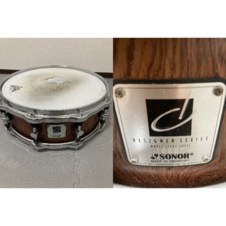 SONOR ソナー スネア DS-1505ML Designer Series (スネア)