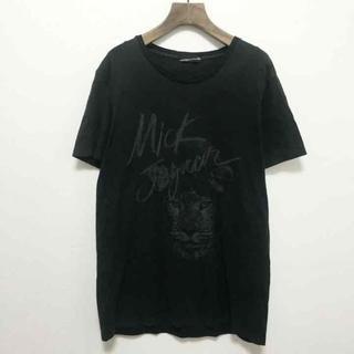 ラッドミュージシャン(LAD MUSICIAN)のミックジャガー ビッグロゴプリント(Tシャツ/カットソー(半袖/袖なし))