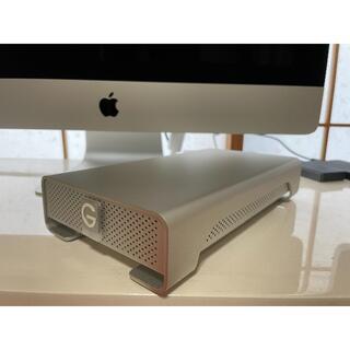 ヒタチ(日立)の【値下げ】外付けハードディスクドライブ G-DRIVE 1TB(PC周辺機器)