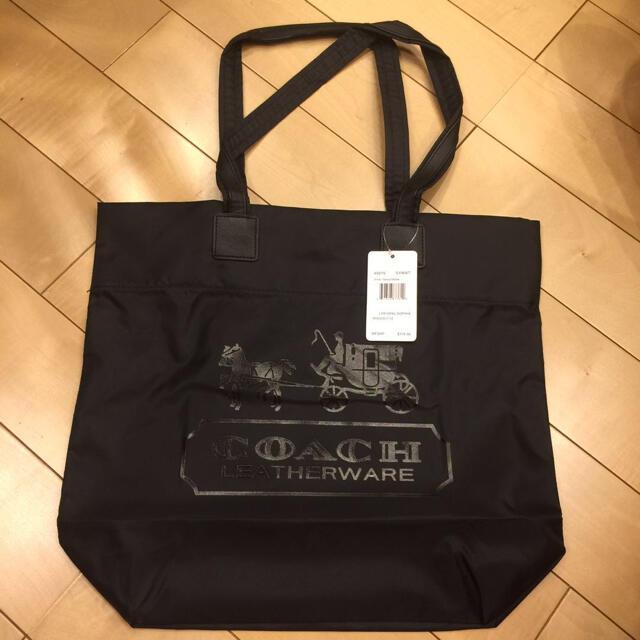 COACH(コーチ)のCOACH コーチ トートバック エコバッグ 新品未使用 タグ付き レディースのバッグ(トートバッグ)の商品写真