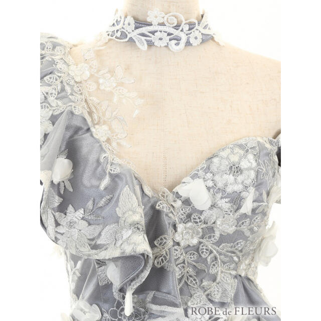 ROBE(ローブ)のローブドフルール ドレス M レディースのフォーマル/ドレス(ナイトドレス)の商品写真