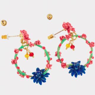 Les Nereides - 新品☆サボテンの花のピアス^_^