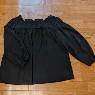 IENA SLOBE - 襟刺繍 ブラウス