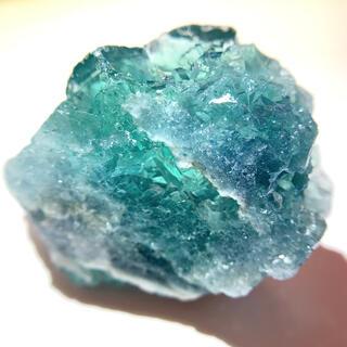 蛍石 ブルー グリーン フローライト 原石 鉱物 鉱石 天然石 パワーストーン