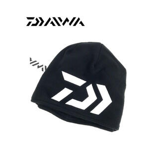 ダイワ(DAIWA)のDAIWA ダイワ ニット帽 キャップ ビーニー 海外モデル 帽子 刺繍ロゴ(ウエア)