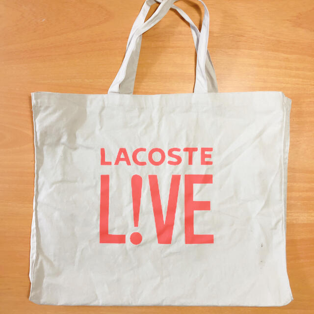 LACOSTE L!VE(ラコステライブ)のLACOSTE ビッグトートバッグ メンズのバッグ(トートバッグ)の商品写真