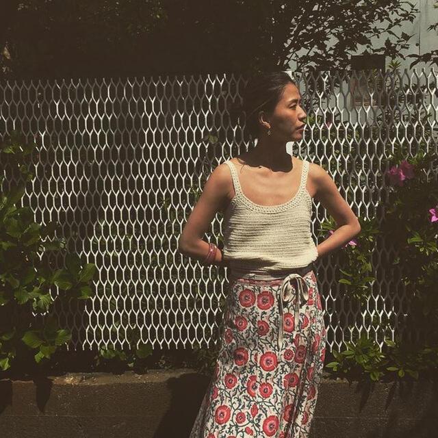 Fabiane Roux(ファビアンルー)のnowos  花柄 マキシスカート レディースのスカート(ロングスカート)の商品写真