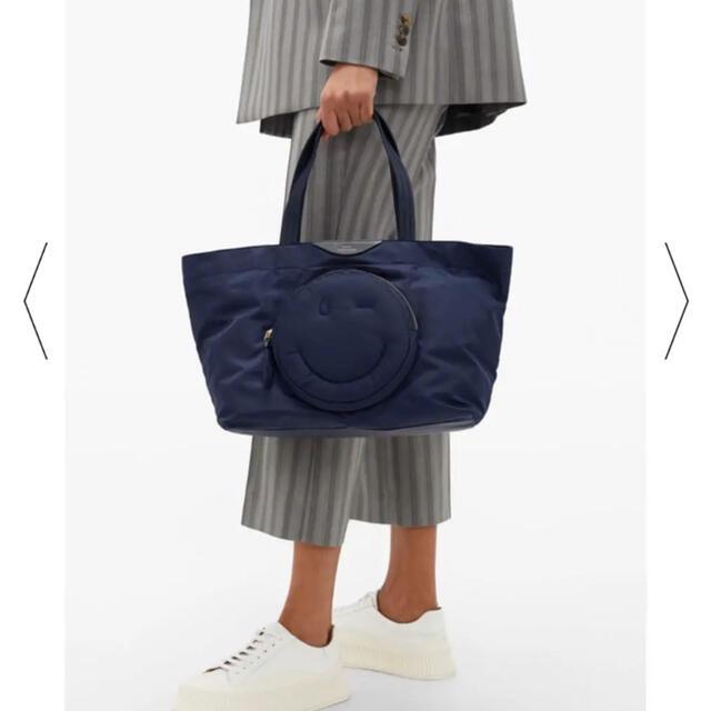 ANYA HINDMARCH(アニヤハインドマーチ)の完売品‼️❤️Anya Hindmarch❤️チャビーウィンクナイロン トート レディースのバッグ(トートバッグ)の商品写真