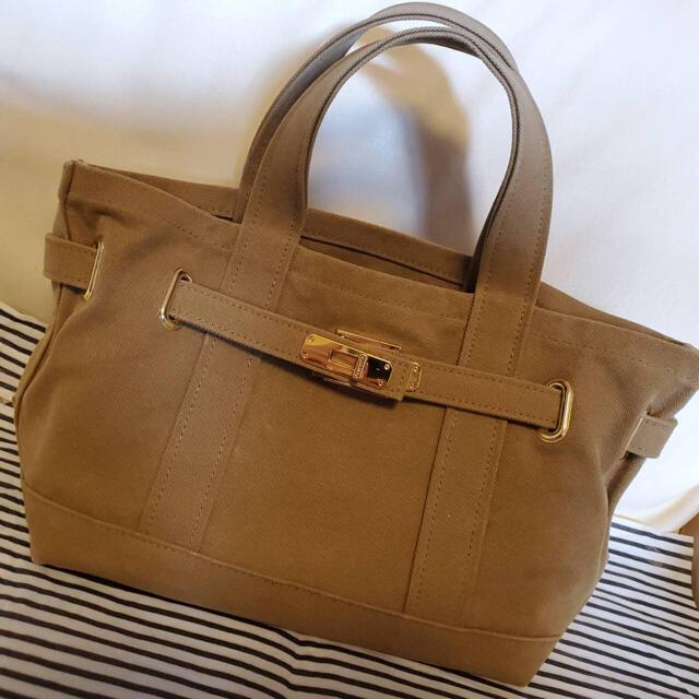 DEUXIEME CLASSE(ドゥーズィエムクラス)のドゥーズィエムクラス 購入SITA PARANTICAキャンバストートミニバッグ レディースのバッグ(トートバッグ)の商品写真