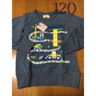 マザウェイズ(motherways)のトレーナー  マザウェイズ  男の子  120  電車(Tシャツ/カットソー)