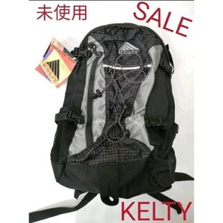 ケルティ(KELTY)の【未使用】ケルティ リュック ブラック✕シルバー✕パープル 更にお値下中です❗ (リュック/バックパック)