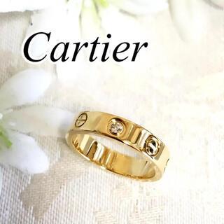 Cartier - カルティエ 1P ダイヤ ミニラブリング ラブリング ゴールド YG 48