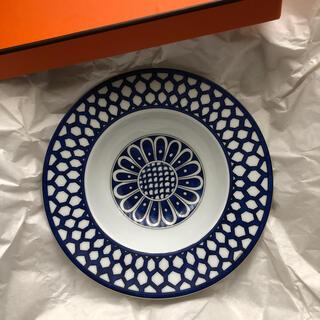 エルメス(Hermes)のエルメス ブルーダイユールスープ パスタ皿二枚未使用(食器)