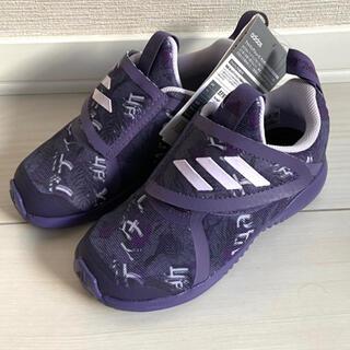 adidas - 新品 adidas スニーカー キッズ ジュニア 16cm パープル 紫