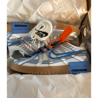 NIKE - NIKE OFF WHITE RUBBER DUNK ダンク 29cm