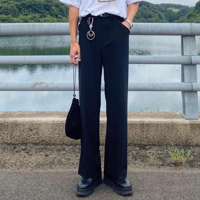 SUNSEA(サンシー)のSUNSEA  SNM-BLUE-TEKETEKE PANTS 19SS メンズのパンツ(スラックス)の商品写真