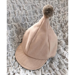 petit main - とんがり帽子 ベビー帽子 テータテート タグあり