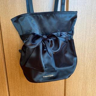 メゾンドフルール(Maison de FLEUR)のMaisondeFLEUR リュック バッグパック 黒 新品未使用(リュック/バックパック)