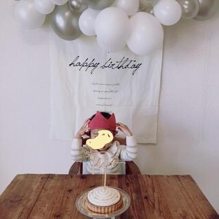 Caramel baby&child  - 【美品】ウフ oeuf ニットクラウン バースデー 誕生日 トッパー 王冠