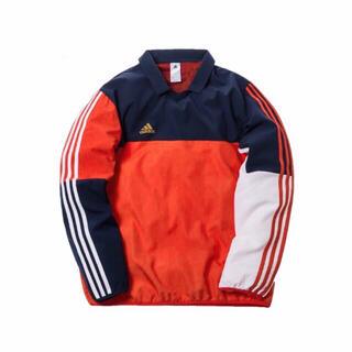 正規品 KITH × adidas サッカー サイドライン ポロロングTシャツ