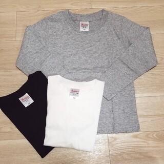 新品未使用 長袖 3点セット ロンT シャツ Tシャツ 無地