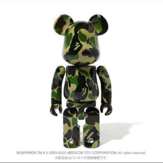 メディコムトイ(MEDICOM TOY)のBAPE BE@RBRICK ABC CAMO  超合金 Green Camo(その他)