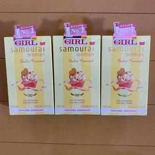 サムライ(SAMOURAI)のサムライウーマン  ドルチェキャラメル オードパルファム  40ml(香水(女性用))