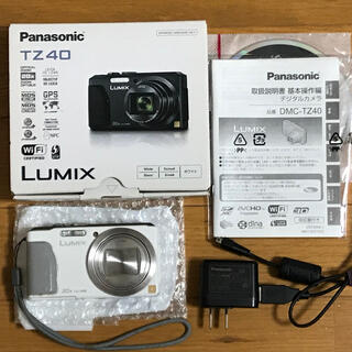 Panasonic - パナソニック DMC-TZ40【赤外線改造カメラ】ホワイト