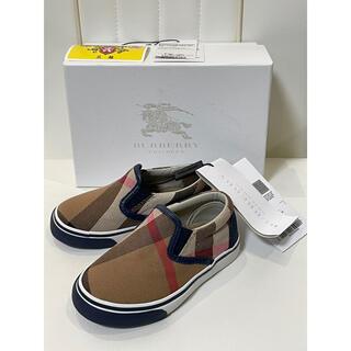 BURBERRY - 新品未使用 バーバリー 靴 バーバリーチルドレン ベビー 靴 スニーカー