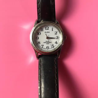 アルバ(ALBA)のソーラー電波ウォッチ レディース(腕時計)