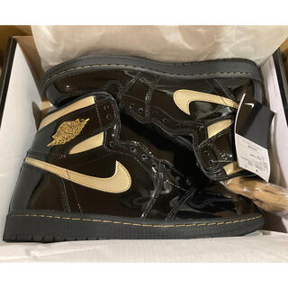 NIKE - 27cm Air Jordan1 High Og Black Metalic