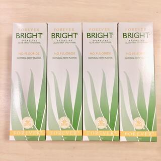 フォーエバー ブライト 歯磨き粉 4個セット