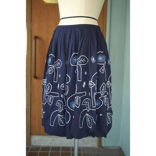 mina perhonen - ミナペルホネン bow バルーンスカート