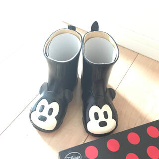 ダイアナ(DIANA)の【新品・未使用】DIANAミッキー(長靴/レインシューズ)