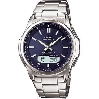 カシオ(CASIO)の[カシオ] 腕時計 ウェーブセプター 電波ソーラー WVA-M630D-2AJF(金属ベルト)