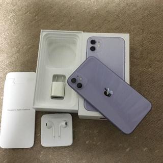 iPhone 11 パープル 128 GB Softbank