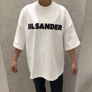 ジルサンダー(Jil Sander)のJIL SANDER ジルサンダー オーバーサイズ ロゴ Tシャツ(Tシャツ/カットソー(半袖/袖なし))