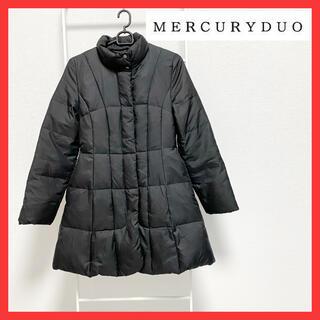 MERCURYDUO - 美品 マーキュリーデュオ コート ダウン ブラック レディース サイズF 冬