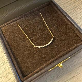 ete - ete ダイヤモンド k18 イエローゴールド ネックレス