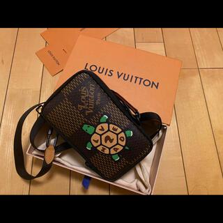 LOUIS VUITTON - louis vuitton × NIGO コラボ 希少 ダブル フォン ポーチ