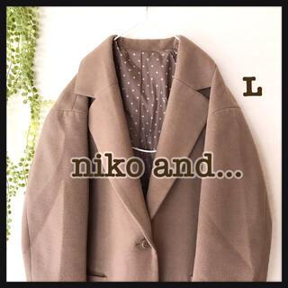 ニコアンド(niko and...)のニコアンド チェスターコート L   No.32 (チェスターコート)