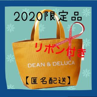 DEAN & DELUCA - 【限定色】完売❗️D&D チャリティートート キャラメルイエロー S リボン付