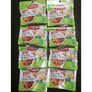 ネスレ(Nestle)のキットカット 毎日のナッツ&クランベリー 豆乳味(菓子/デザート)