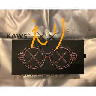 シュプリーム(Supreme)のKaws コラボ サングラス ピンク グレー セット(サングラス/メガネ)