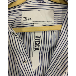 UNITED ARROWS - TICCA スクエア ビッグシャツ