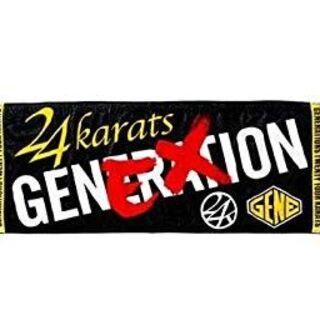 ジェネレーションズ(GENERATIONS)のGENERATIONS EX×24karats フェイスタオル(ミュージシャン)